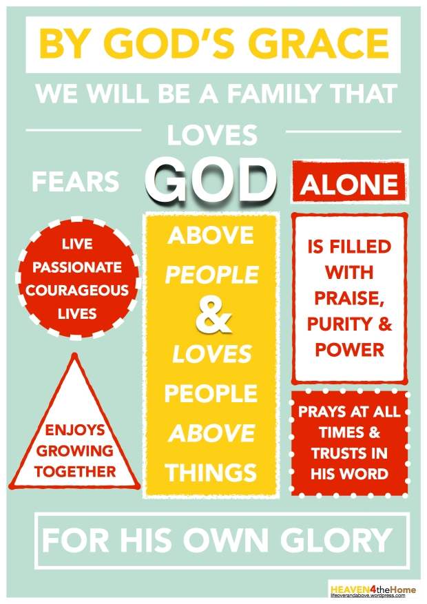 FAMILY MISSION STATEMENT 2014